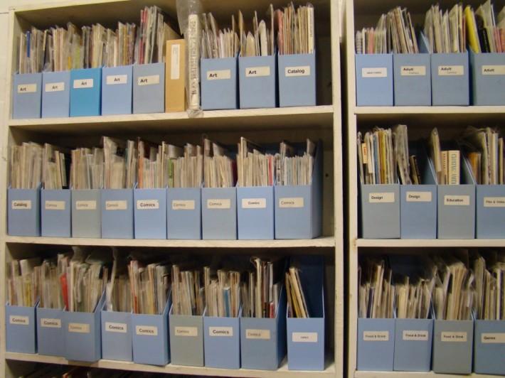 IPRC Zine Library